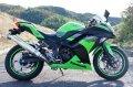 KAWASAKI Ninja250 `13〜`17 TRエキゾーストシステム ステンレスサイレンサー Φ100X400