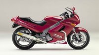 KAWASAKI ZZ-R250 アレーテ・ボルテックス アルミサイレンサー Φ100X450