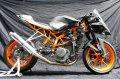 KTM RC250 TRエキゾーストシステム アルミサイレンサーΦ100x500mm レースタイプ