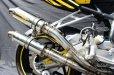 画像2: 【HRC車専用】HONDA CBR250RR TRエキゾーストシステム ステンレスショートサイレンサー 2本出し (2)