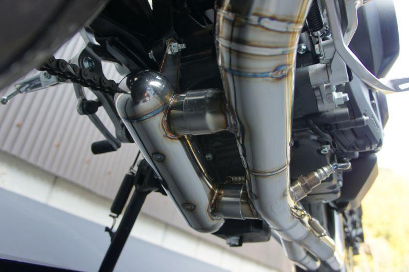 画像5: 【即納可能10%OFF】YAMAHA MT-09 TRエキゾーストシステム 月光メガホン