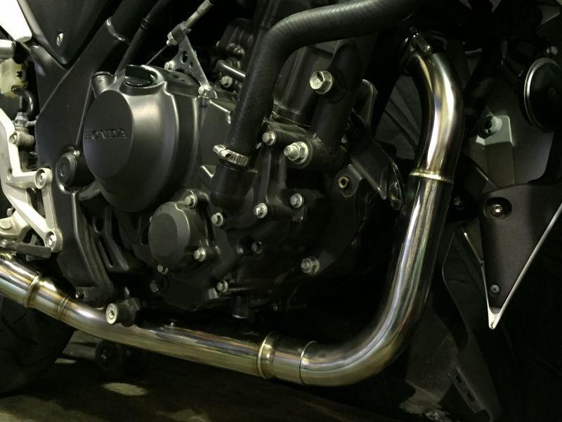 画像2: HONDA CBR250R TRエキゾーストシステム アルミサイレンサーΦ100x500mm レーシングタイプ