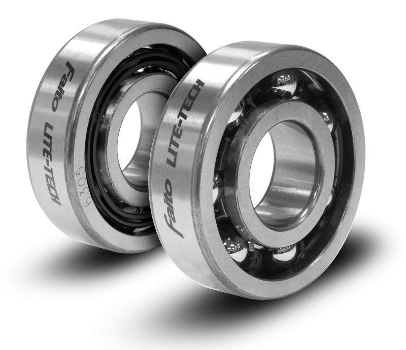 画像1: レーシングクランクシャフトベアリングセット (LITE-TECH) - KSR110