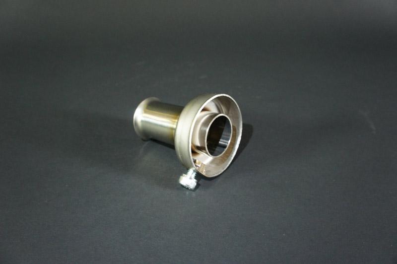 画像2: エンドバッフル 外径Φ48 ステンレス用 汎用